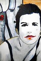 Brigitte-Raz-Goldau-Menschen-Gesichter-Menschen-Frau-Gegenwartskunst-Gegenwartskunst