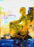 B. Raz-Goldau, Engel am Meer