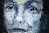 Brigitte-Raz-Goldau-Menschen-Frau-Menschen-Portraet-Gegenwartskunst-Gegenwartskunst