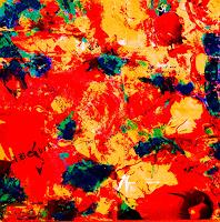 Brigitte-Raz-Goldau-Abstraktes-Pflanzen-Blumen-Gegenwartskunst-Gegenwartskunst