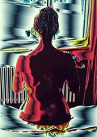 Brigitte-Raz-Goldau-Menschen-Frau-Abstraktes-Gegenwartskunst-Postsurrealismus