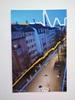 Brigitte Raz-Goldau, Urban landscapes, Architektur, Landschaft: Winter, Gegenwartskunst
