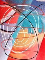 Brigitte-Raz-Goldau-Skurril-Abstraktes-Moderne-Abstrakte-Kunst