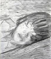 Brigitte-Raz-Goldau-Menschen-Gesichter-Menschen-Portraet-Gegenwartskunst-Gegenwartskunst