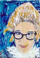 Brigitte-Raz-Goldau-Menschen-Frau-Menschen-Gesichter-Gegenwartskunst-Gegenwartskunst