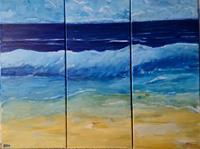 Brigitte-Raz-Goldau-Landschaft-See-Meer-Natur-Wasser-Gegenwartskunst-Gegenwartskunst