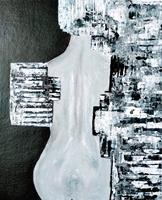 Brigitte-Raz-Goldau-Menschen-Frau-Abstraktes-Moderne-Abstrakte-Kunst