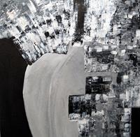 Brigitte-Raz-Goldau-Menschen-Mann-Abstraktes-Moderne-Abstrakte-Kunst