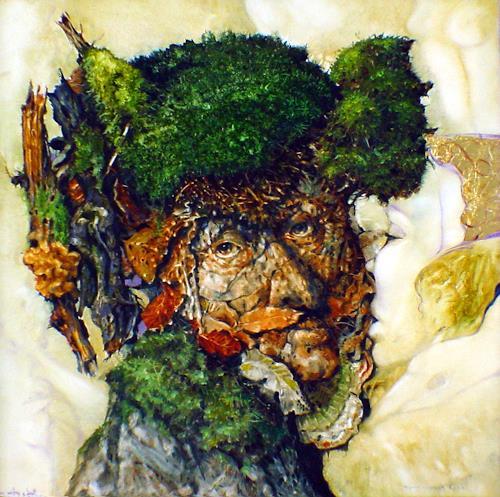 W.A. di Bolgherese, Kiss of Nature, Symbol, Gegenwartskunst, Abstrakter Expressionismus