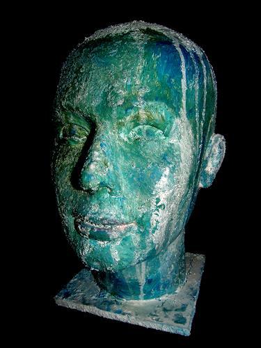 OMAR, O.T. / 113, Menschen: Gesichter, Abstrakter Expressionismus