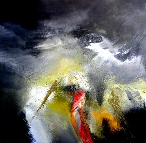OMAR, Im Himmel ist die Hölle los / Deutsche Einheit  / 152, Abstraktes, Abstrakter Expressionismus