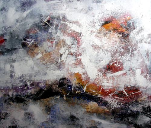 OMAR, O.T. / 170, Abstraktes, Landschaft: Winter, Abstrakter Expressionismus