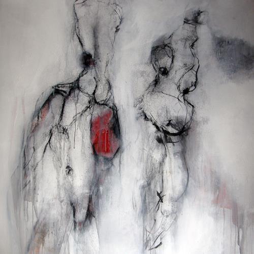 OMAR, O.T. / 268, Akt/Erotik, Abstrakter Expressionismus
