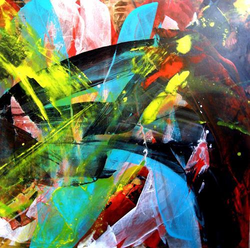 OMAR, O.T. / 293, Abstraktes, Abstrakter Expressionismus