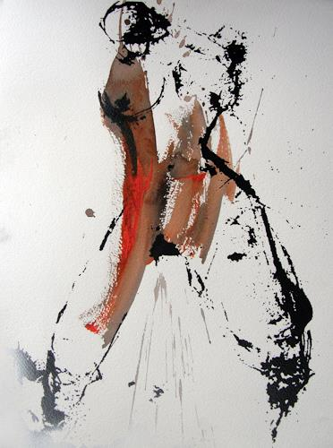 OMAR, SIE III / 295, Akt/Erotik: Akt Frau, Abstrakter Expressionismus