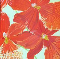 Anne-Petschuch-Pflanzen-Pflanzen-Blumen-Moderne-Impressionismus
