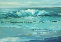 Anne-Petschuch-Landschaft-See-Meer-Landschaft-Moderne-Impressionismus-Neo-Impressionismus