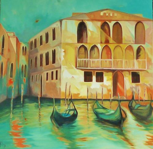 Anne Petschuch, Venice, Wohnen: Stadt, Architektur, Impressionismus