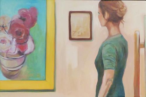 Anne Petschuch, KunstZeitRaum, Menschen: Frau, Freizeit, Impressionismus