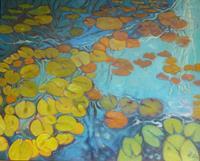 Anne-Petschuch-Pflanzen-Natur-Wasser-Moderne-Impressionismus