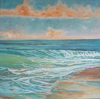 Anne-Petschuch-Landschaft-See-Meer-Natur-Moderne-Impressionismus-Neo-Impressionismus