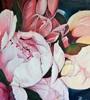 Anne Petschuch, Pfingstrosen II, Pflanzen, Pflanzen: Blumen, Impressionismus