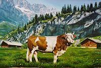 Antonio-Molina-Tiere-Land-Diverse-Tiere-Moderne-Naturalismus