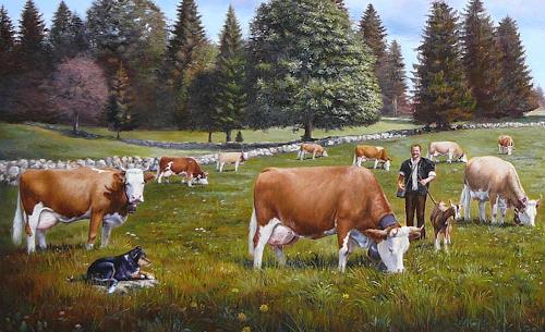 Antonio Molina, Marmet Detail, Tiere: Land, Expressionismus