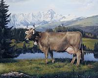 Antonio-Molina-Tiere-Land-Landschaft-Berge-Moderne-Naturalismus
