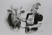 Antonio-Molina-Markt-Tiere-Land-Moderne-Fotorealismus