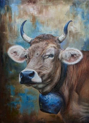 Antonio Molina, Rösli, Tiere: Land, Abstrakte Kunst, Expressionismus