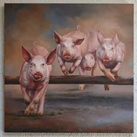 Antonio-Molina-Tiere-Land-Moderne-Abstrakte-Kunst