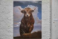 Antonio-Molina-Tiere-Land-Landschaft-Herbst-Moderne-Abstrakte-Kunst