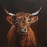 Antonio-Molina-Tiere-Land-Tiere-Land-Moderne-Abstrakte-Kunst