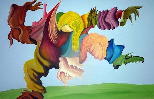 WALT, GRR, Fantasie, Bewegung, Postsurrealismus, Abstrakter Expressionismus