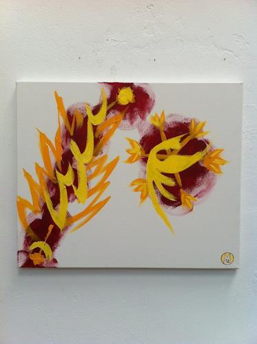 rudolf mettler, rot/gelb  III, Diverses, Gegenwartskunst