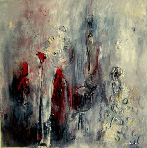 silvia messerli, la petite princesse dans la pluie, Menschen, Poesie, Abstrakte Kunst, Abstrakter Expressionismus