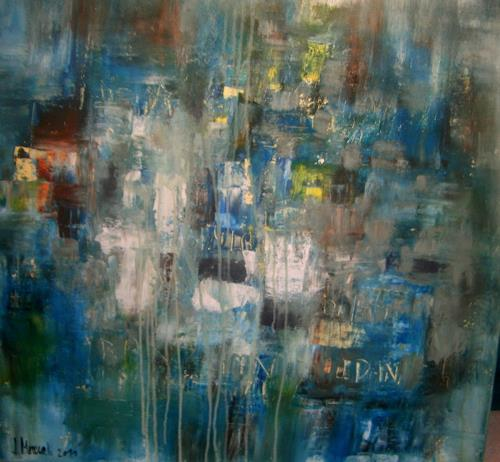 silvia messerli, a rainy day, Gefühle, Natur: Wasser, Moderne