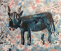 silvia-messerli-Abstraktes-Tiere-Land-Moderne-Abstrakte-Kunst-Art-Brut