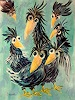 silvia messerli, Ramba zamba, Fantasie, Tiere: Luft, Art Brut