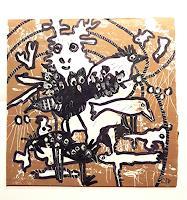 silvia-messerli-Tiere-Land-Zeiten-Winter-Moderne-Abstrakte-Kunst-Art-Brut