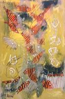 silvia-messerli-Tiere-Wasser-Fantasie-Moderne-Abstrakte-Kunst-Art-Brut