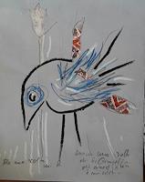 silvia-messerli-Fantasie-Tiere-Luft-Moderne-Abstrakte-Kunst-Art-Brut