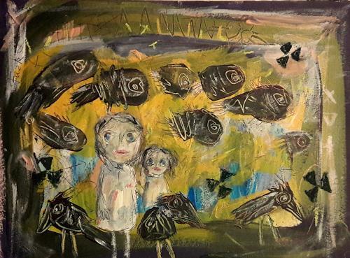 silvia messerli, Fukushima, Gefühle: Angst, Diverse Menschen, Art Brut