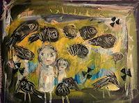 silvia-messerli-Gefuehle-Angst-Diverse-Menschen-Moderne-Abstrakte-Kunst-Art-Brut