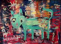 silvia-messerli-Tiere-Land-Gefuehle-Liebe-Moderne-Abstrakte-Kunst-Art-Brut