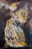 silvia-messerli-Gefuehle-Trauer-Tiere-Land-Moderne-Naive-Kunst