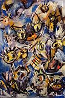 silvia-messerli-Abstraktes-Fantasie-Moderne-Abstrakte-Kunst-Art-Brut