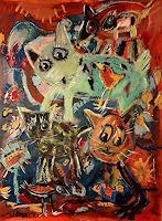silvia-messerli-Fantasie-Situationen-Moderne-Abstrakte-Kunst-Art-Brut