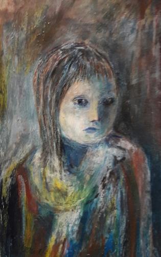 silvia messerli, eine Uebung, Menschen: Porträt, Gesellschaft, Gegenwartskunst, Abstrakter Expressionismus